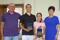 Кмет връчи почетни плакети на спортисти  с постижения