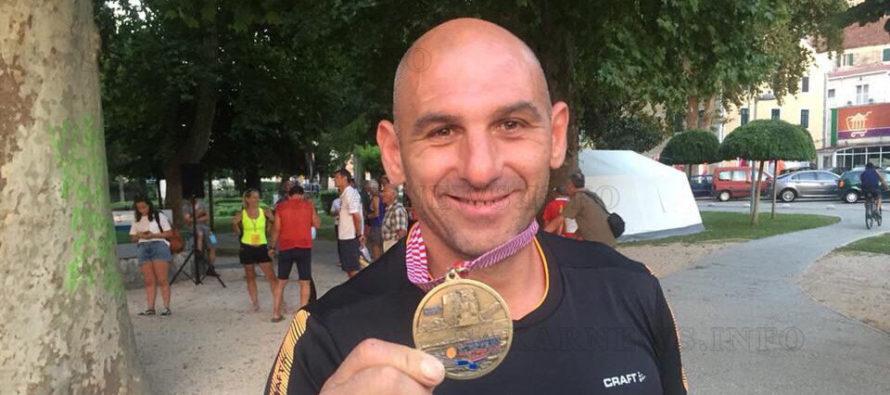 Ветеран стана трети в европейски  маратон по гребане