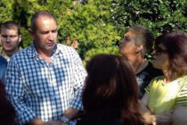 Президентът Румен Радев посети село Славяново и Харманли