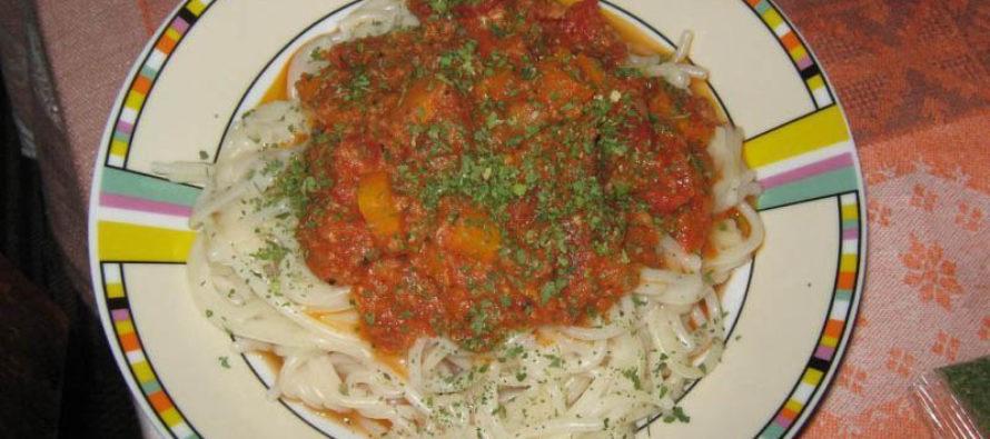 Спагети с риба тон по Италиански