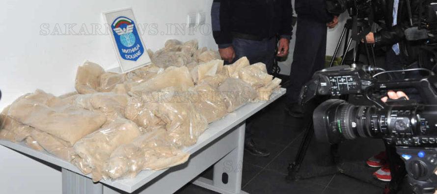 Задържаха рекордно количество хероин на Капитан Андреево