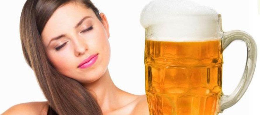Как да използвате бирата за по-здрава и блестяща коса?