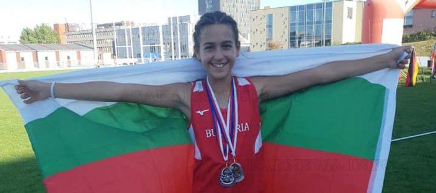 Симона спечели в Бърно златен и сребърен медал