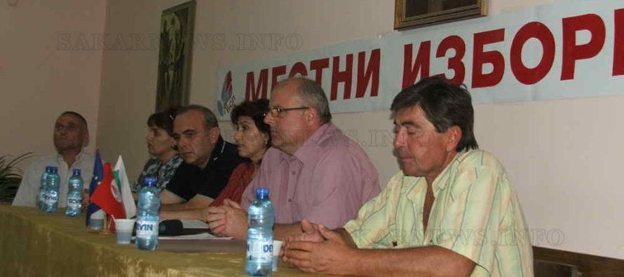 Михаил Лисков тръгва към втори мандат, издигнат от БСП и коалиция