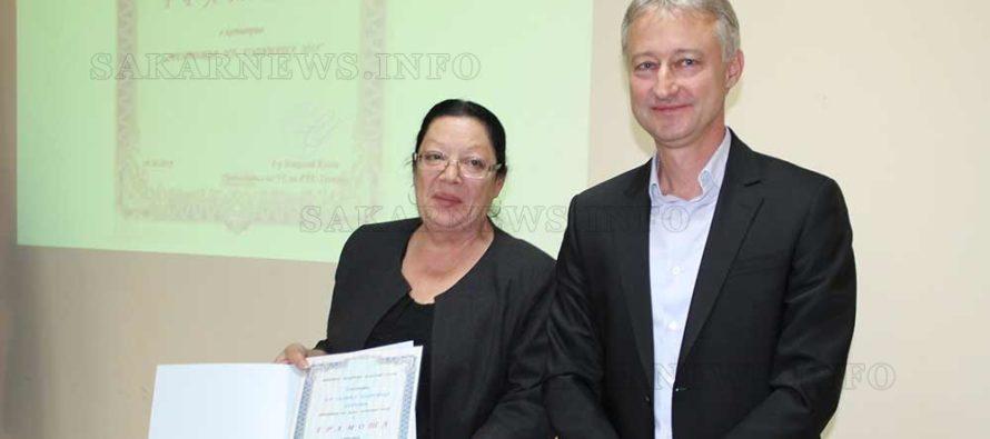 Управител на болница получи признание в Деня на българския лекар