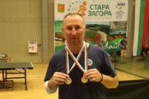 Стойчо Стоев – с два сребърни медала