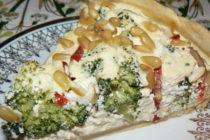 Пирог с извара и броколи