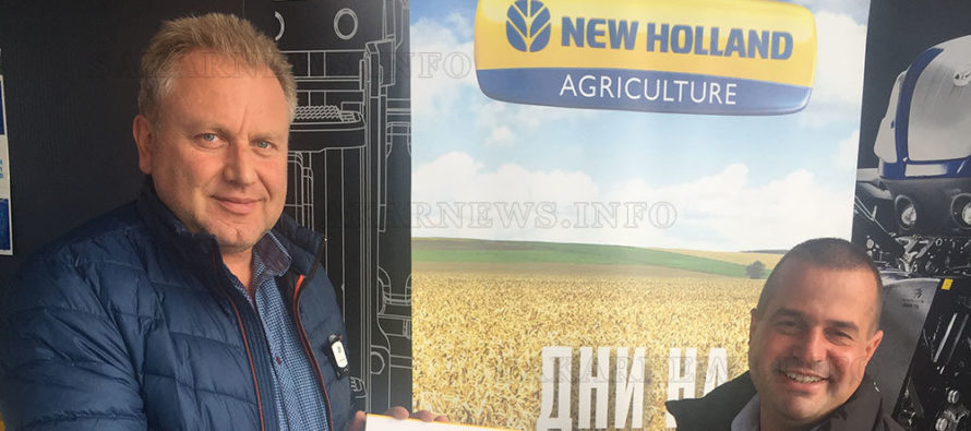 Земеделци се запознаха с новите технологии на New Holland