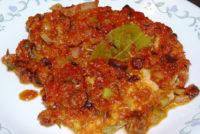 Рибено филе в стил Веракруз