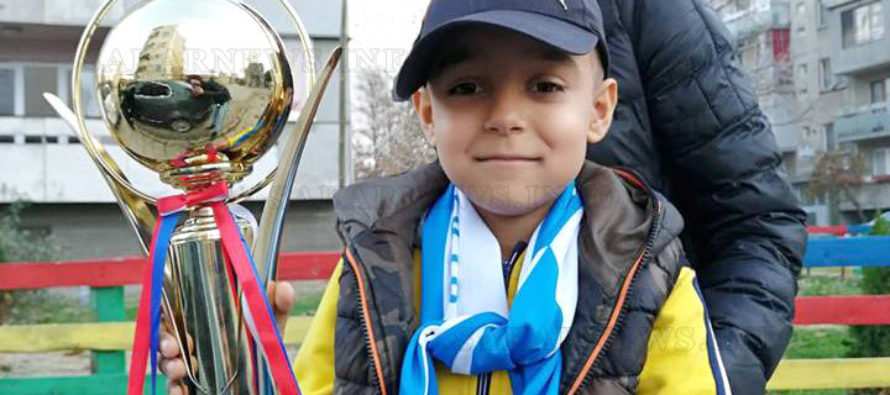 Турнир по футбол  подкрепи лечение на дете