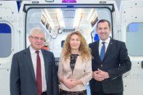 България получи първите две линейки, закупени с пари от ЕС