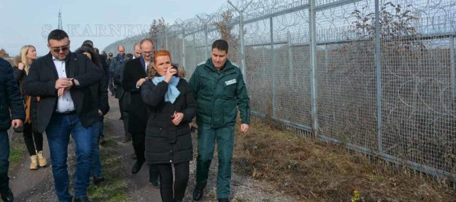 Датски министър остана доволен от охраната на границата на Европа