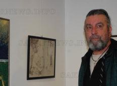 Открита е изложба-а-а в памет на Георги Янев