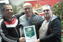 Пожарникар и  съотборникът му  спечелиха турнир по белот