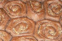 Какаови охлюви с орехова плънка