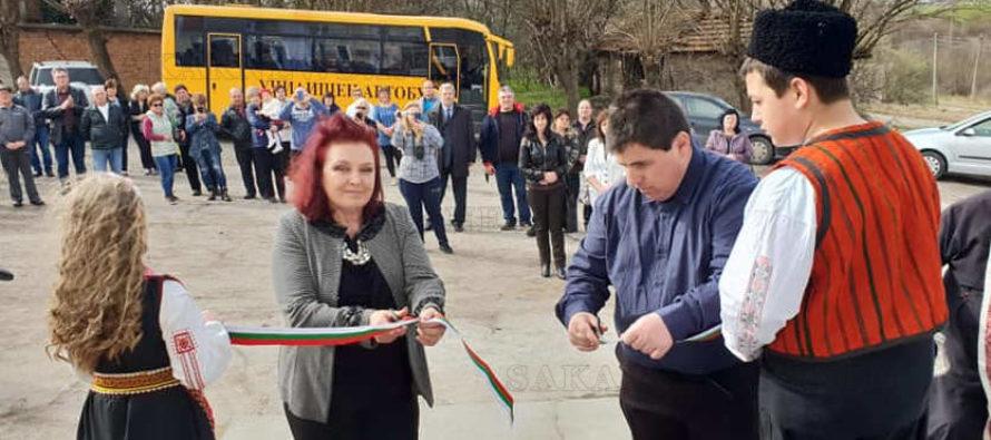Откриха ремонтираната сграда на кметството в село Навъсен