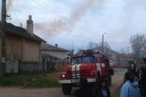Изгоря покрив на къща в село Иваново