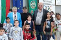 """Симеоновградски борци  получиха почетни медали  от """"Олимпийски надежди"""""""