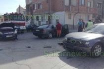 Катастрофа между автомобили затвори движението по кръстовище в Харманли