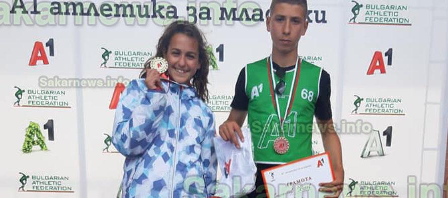 """Спортисти от """"Хеброс"""" –  лидери в """"А1 атлетика  за младежи"""""""