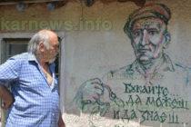 Пенчо Лозанов направи етнографски кът в двора на къщата си в с. Иваново