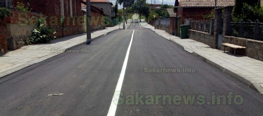 Разровена от порой улица в  Симеоновград е основно ремонтирана