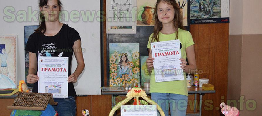 """Първи места спечелиха  ученички от конкурса """"Сребърна 2019"""""""