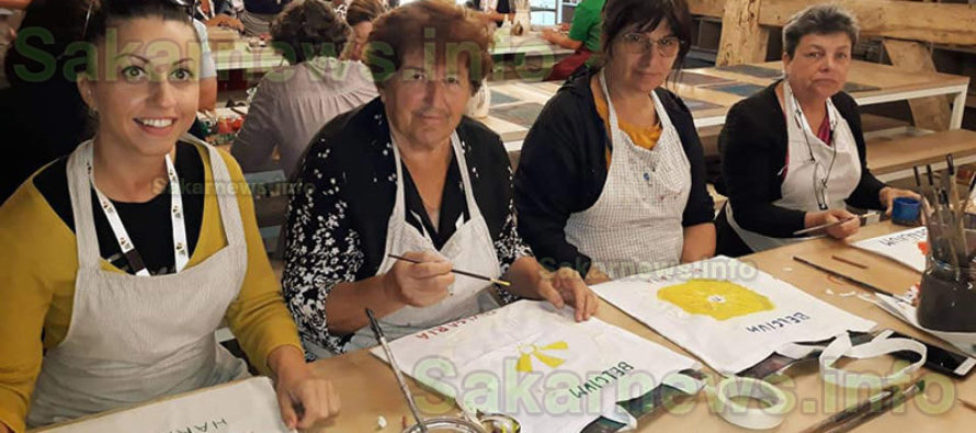 Доситеевци плетоха брюкселска  дантела и правиха бонбони в Белгия