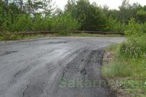 Ремонтът на пътя за село  Планиново издържа седмица