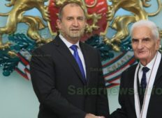 Христо Меранзов получи най-високото отличие в държавата