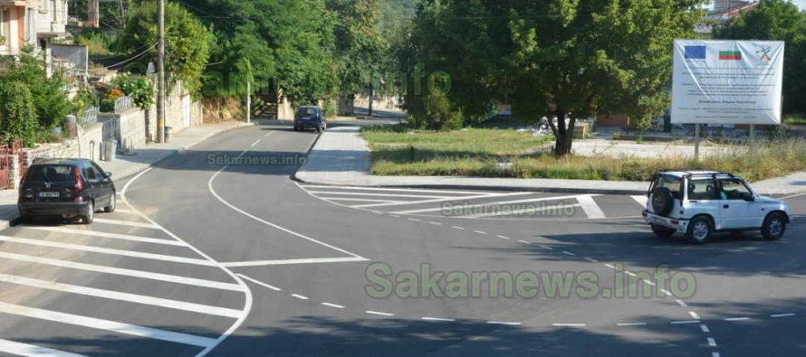 Впечатляваща пътна маркировка  се появи по улици на Тополовград