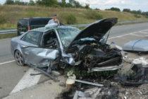 """Ауди с четирима пътници катастрофира на АМ """"Марица"""""""
