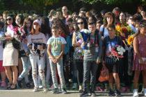 Ученици бяха приветствани със слово от директор