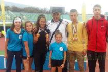 Лекоатлети стартираха със седем медала от Go kids