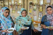 Бежанци от няколко държави предложиха ястия на доситеевци