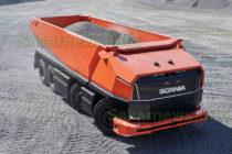 Scania изпробва автономен  камион без шофьор