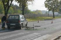 Затвориха път заради инцидент с велосипедистка