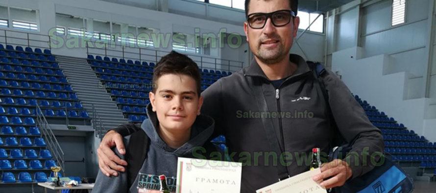 """За купата """"5-ти октомври 2019"""" се бориха 12 тенисисти"""
