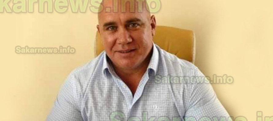 Божин Божинов – кмет на община  Тополовград за трети пореден мандат