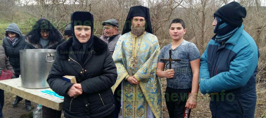 Само двама в с. Устрем  спасяваха кръста на  Йордановден