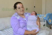 Бебето на 2020 г. в Харманли сбъдна мечтата на семейството си
