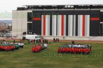 510 деца на Харманли създадоха жива мартеница – трикольор