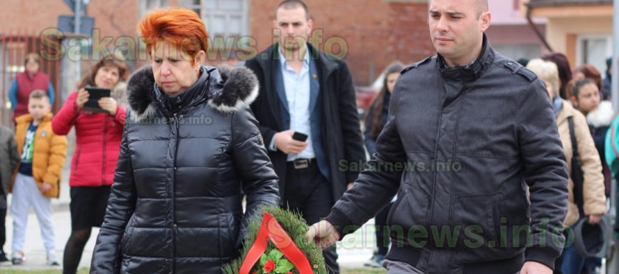 В Свиленград изнесоха  рецитал пред паметника  на Апостола