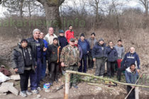 Доброволци почистиха местността Минковото кладенче