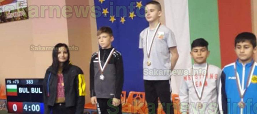 Изгряваща звезда на Симеоновград  донесе медал от Държавно първенство