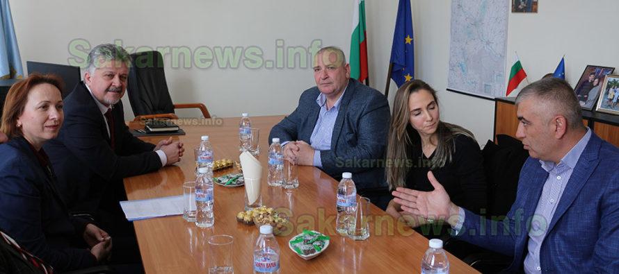 Сътрудничество между две общини  обсъждаха кметове