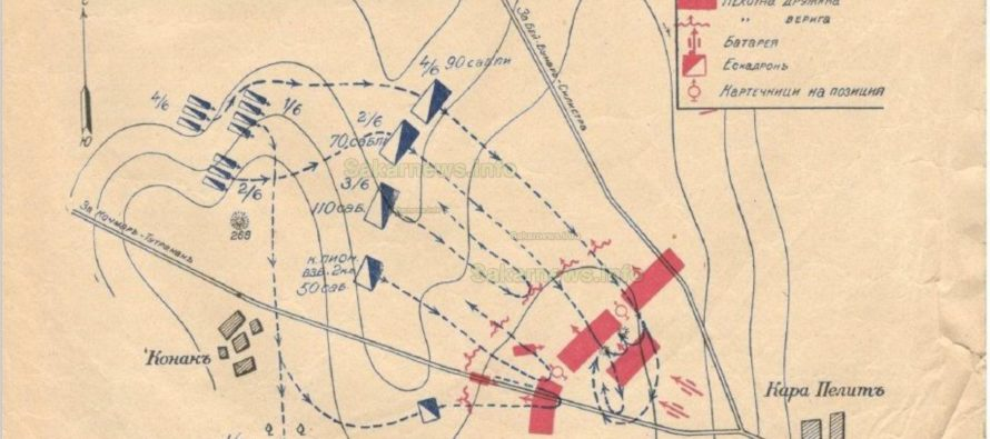 Битката при Карапелит започва  със загуба на българите, II част