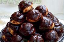 Еклери с шоколадова глазура