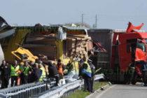 Отвориха магистралата за движение след вчерашната катастрофа