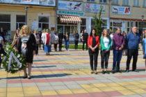 Венци и слово за Деня на Ботев в Тополовград